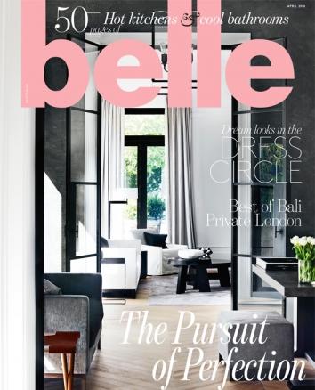 Greg Natale Belle Magazine April 2018