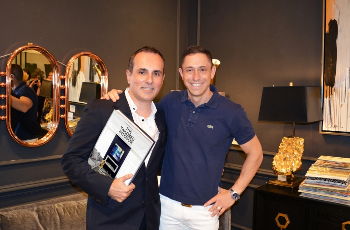 Greg Natale and Jonathan Adler in New York City